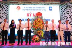 Provincial Association of Small and Medium Enterprises holds a celebration of Vietnamese Entrepreneurs' Day