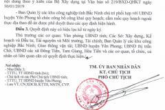 Công bố Đồ án quy hoạch chung xây dựng Khu công nghiệp Yên Phong II, tỷ lệ 1/5.000, huyện Yên Phong, tỉnh Bắc Ninh