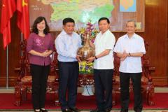 Đoàn công tác Bộ Kế hoạch và Đầu tư làm việc tại Bắc Ninh