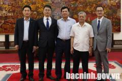 Tổng Công ty DIC tìm hiểu cơ hội đầu tư tại Bắc Ninh