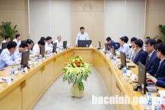 Bộ trưởng Bộ Kế hoạch và Đầu tư thăm Công ty TNHH Samsung Display Việt Nam