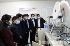 Lãnh đạo UBND tỉnh làm việc với Công ty TNHH dược phẩm Thiên Ân