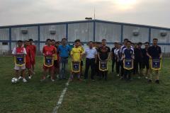 Khai mạc Giải bóng đá nam Sungwoo Vina