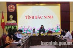 Hội nghị trực tuyến về giải ngân vốn ưu đãi nước ngoài