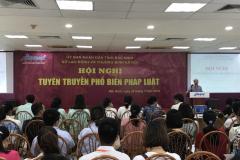 Tuyên truyền phổ biến pháp luật lao động tại KCN Bắc Ninh
