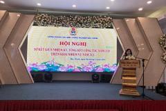 Công đoàn các khu công nghiệp Bắc Ninh: Sơ kết giữa nhiệm kỳ thực hiện Nghị quyết Đại hội Công đoàn các cấp, nhiệm kỳ 2018-2023. Triển khai nhiệm vụ công tác Công đoàn năm 2021