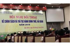 Hội nghị đối thoại với doanh nghiệp trên địa bàn tỉnh về chính sách và thủ tục hành chính thuế, hải quan