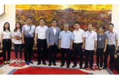 Chủ tịch UBND tỉnh Nguyễn Tử Quỳnh làm việc với Công ty TNHH Hanwha Techwin Security Việt Nam và Công ty Golden Horse