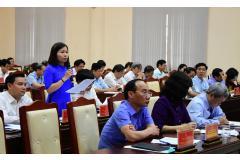 Kỳ họp thứ 8, HĐND tỉnh khóa XVIII: Chất vấn Ban Quản lý các Khu công nghiệp tỉnh, Sở Thông tin và Truyền thông