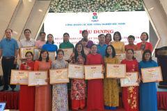 Tập huấn cho cán bộ Công đoàn cơ sở trong các khu công nghiệp Bắc Ninh về những điểm mới của Bộ luật Lao động năm 2019