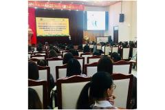 Propagandize and talk about Social Insurance, Health Insurance, Unemployment Insurance for enterprises in Bac Ninh Industrial Zone