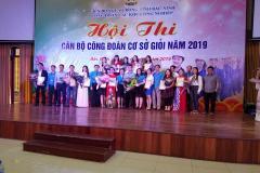 Hội thi cán bộ công đoàn cơ sở giỏi năm 2019