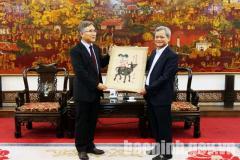 Chủ tịch UBND tỉnh tiếp và làm việc với Tập đoàn KABUL (Hàn Quốc)