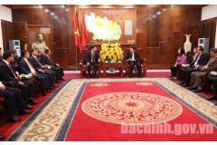 Phó Thủ tướng Chính phủ Trịnh Đình Dũng làm việc tại Bắc Ninh