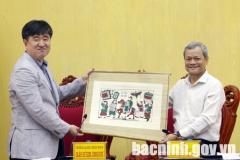 Chủ tịch UBND tỉnh tiếp và làm việc với Đoàn doanh nghiệp Hàn Quốc