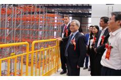 Chủ tịch UBND tỉnh Nguyễn Tử Quỳnh dự Lễ khánh thành Nhà kho Linfox Warehouse