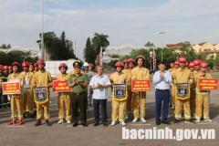 Chung kết Hội thao kỹ thuật nghiệp vụ chữa cháy và CNCH lực lượng PCCC cơ sở