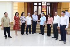 Đoàn công tác Ủy ban Kinh tế của Quốc hội làm việc tại tỉnh Bắc Ninh