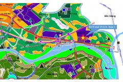 Approving the Zoning planning task for construction of Que Vo II Industrial zone - stage 2