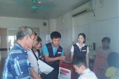 Công đoàn Công ty TNHH Intops Việt Nam- Chia sẻ thương yêu với bệnh nhân nghèo