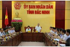 Bắc Ninh kiến nghị Chính phủ quan tâm trình Bộ Chính trị về định hướng xây dựng tỉnh Bắc Ninh trở thành thành phố trực thuộc T.Ư và nhiều nội dung quan trọng khác