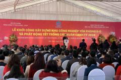 Commencement of construction of Yen Phong II-C Industrial Park