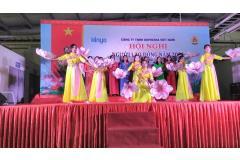Công ty TNHH Kinyosha Việt Nam - Khu công nghiệp Tiên Sơn tổ chức Hội nghị người lao động năm 2021